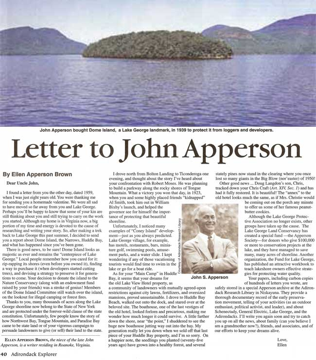 Letter to Uncle John