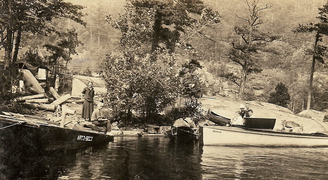 John Apperson's first boat, named for his home town in Virginia